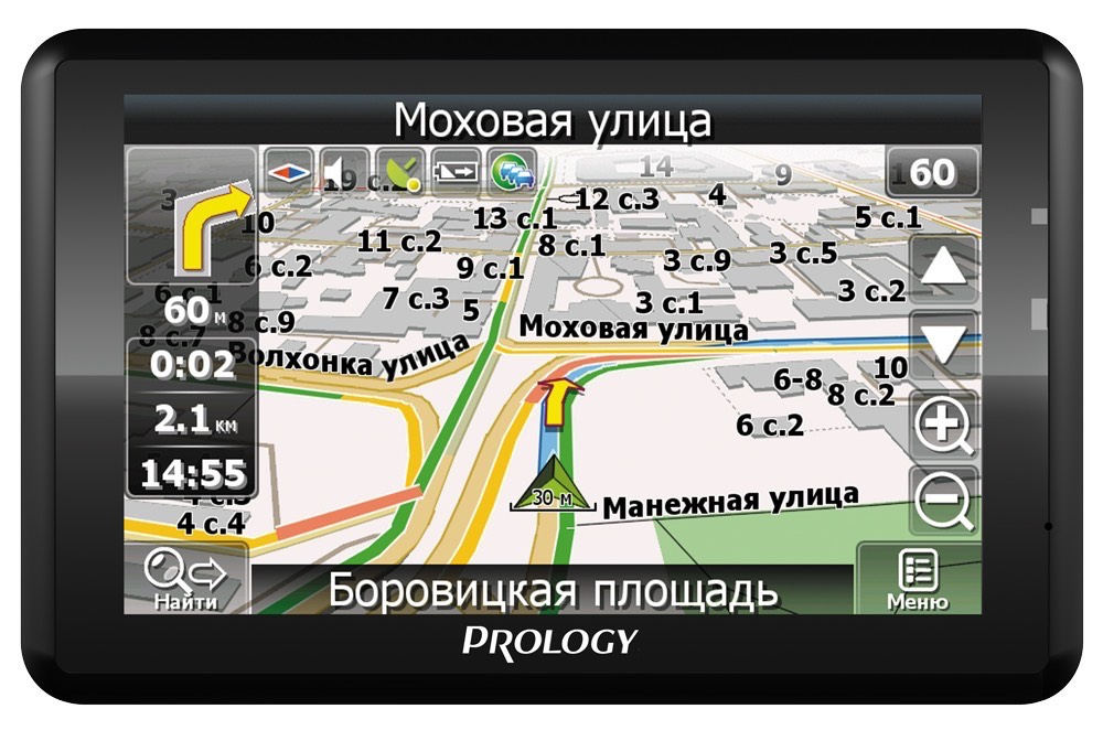 Миниатюра продукта PROLOGY iMap-554AG